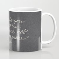 nietzsche Mugs featuring Nietzsche on Rising Anew by Josh LaFayette