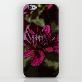 Dahlia 2 - Abstraction iPhone Skin