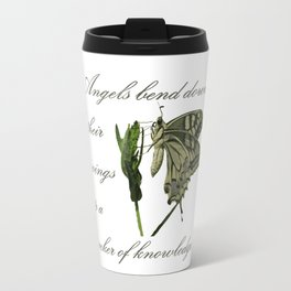 Angels Bend Down Their Wings To A Seeker Of Knowledge Travel Mug