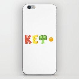 4 Pillars of Ketosis iPhone Skin