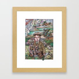 The Song of the Little Hunter Framed Art Print