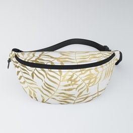 Gold Leaves 2 Fanny Pack