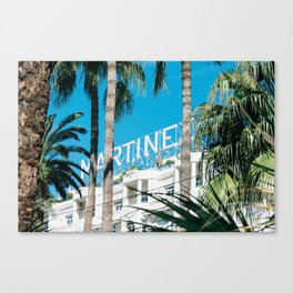 Le Martinez Hotel Canvas Print