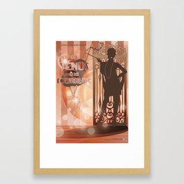 La Vénus à la fourrure Framed Art Print