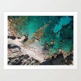 Cala Boquer - Mallorca Art Print