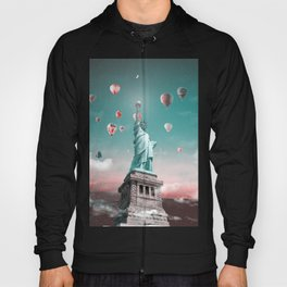Statue of Liberty in sunset Hoody