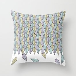 Feather Weather Throw Pillow
