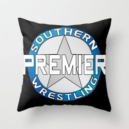 Southern Premier Wrestling Classic Logo Throw Pillow