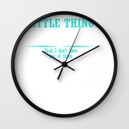 You know that little thing inside your head that keeps you from saying things you shouldn't? Yeah, I Wall Clock