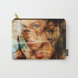 faces of Angelina Jolie3 Carry-All Pouch