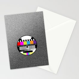 Television Color Test Stationery Cards