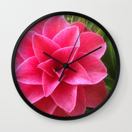 Rosé Tea Rose Wall Clock