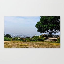 Wisdom Tales of Two Cities Canvas Print