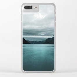 Vikings 02 Clear iPhone Case