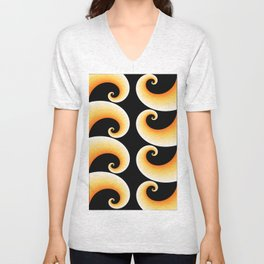 spirale Unisex V-Neck