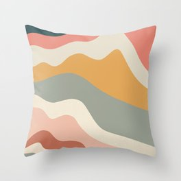 Appreciation - Modern Art Print Throw Pillow
