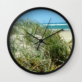 Dunes - Maroochydore Beach, QLD Wall Clock