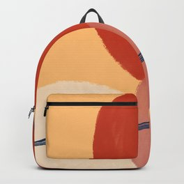 Abstract sunset on bridge  Backpack