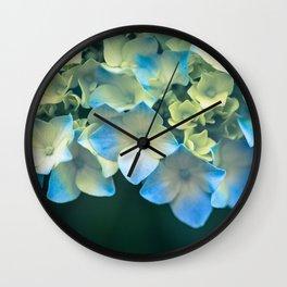 Peek -A- Blue Wall Clock