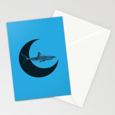 Shark Side of the Moon Stationery Cards
