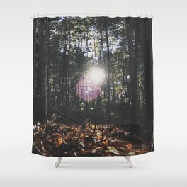 MI Sun Shower Curtain