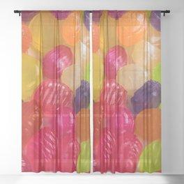 Hard Candy Sheer Curtain