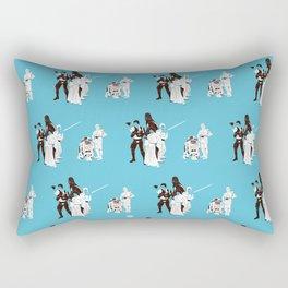 IV (Blue) Rectangular Pillow