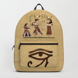 Calling to the Gods Egyptian Folk Art Backpack