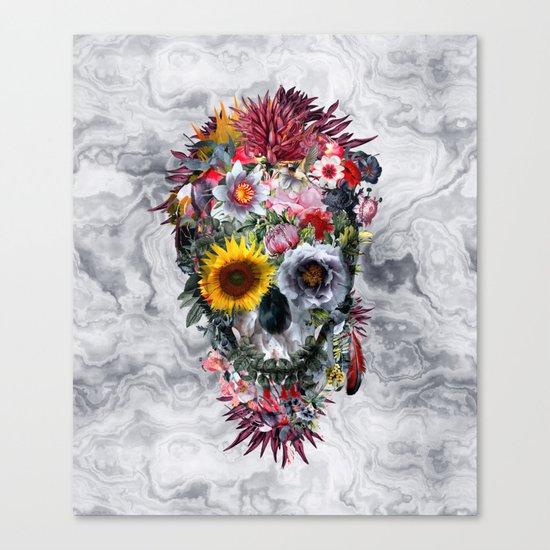 Voodoo Skull Canvas Print