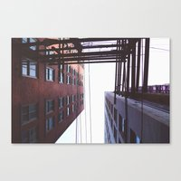 vancouver Canvas Prints featuring Vancouver by CouveCollective