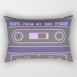 Mixtape of Bops From My Emo Phase Rectangular Pillow