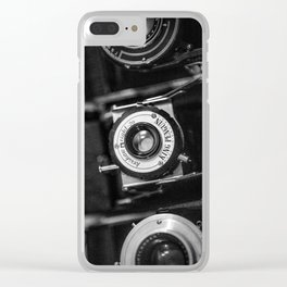 Classic Cameras. Clear iPhone Case