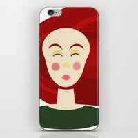 doll iPhone & iPod Skins featuring Doll by Catherine A.