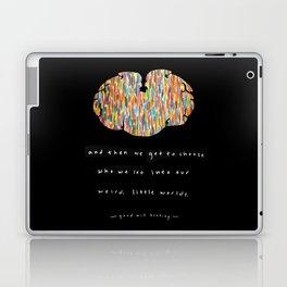 Weird Little Worlds Laptop & iPad Skin