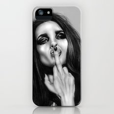 + The Bird is Back + iPhone (5, 5s) Slim Case