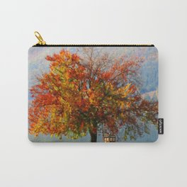 Tardis In The Lake Tree Carry-All Pouch