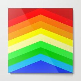 Shades of a Rainbow Metal Print