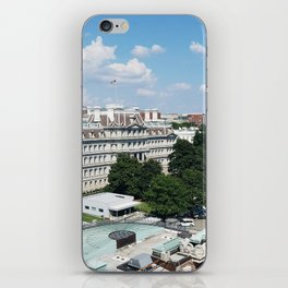 View of the Eisenhower Building iPhone Skin