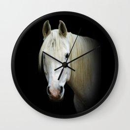 The white Arabian  Wall Clock