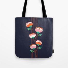 Benoít Flowers Tote Bag