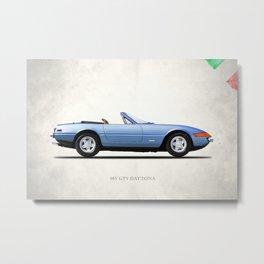 The 365 GTS Metal Print