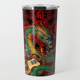 Dragon guitar 1 Travel Mug