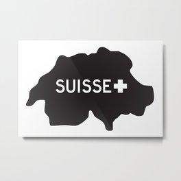Suisse//Five Metal Print