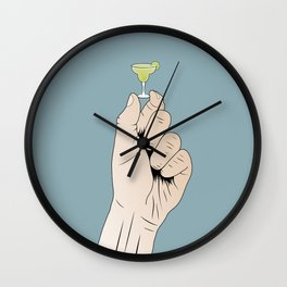 Little Margarita Wall Clock