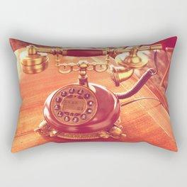 old telephone Rectangular Pillow