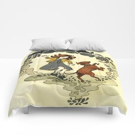 Puddle Hoppers Comforters