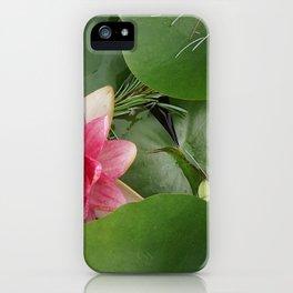 Lotus Flowe_pink1 iPhone Case