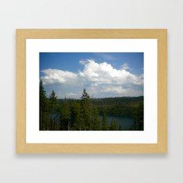 Tranquil Lake Framed Art Print