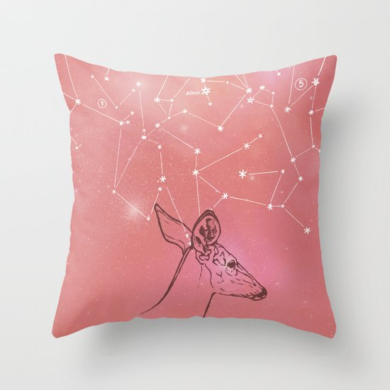 Constellation Prize Throw Pillow
