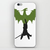 dragon age iPhone & iPod Skins featuring Dragon Age: Inquisition V2 by FelixT